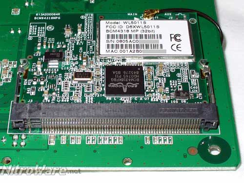 Broadcom BCM4318 802.11g Mini PCI Wireless Card