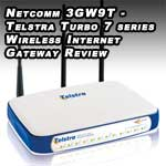 netcomm 3gw9t telstra turbo 7 series wireless internet gateway