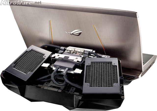 asus rog gx700 dock internal liquid cooler