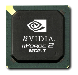NVIDIA nForce2 MCP-T Southbridge with dual NVIDIA and 3Com Networking- 2003