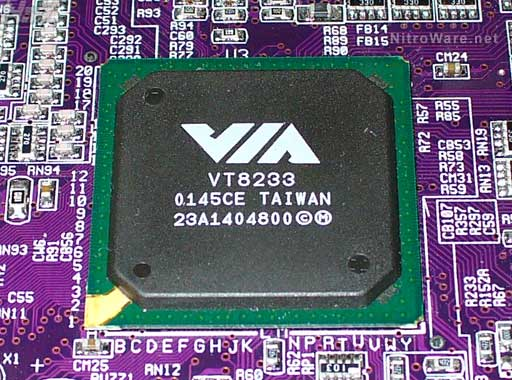 VIA Southbridge Chipset with Integrated LAN - 2001