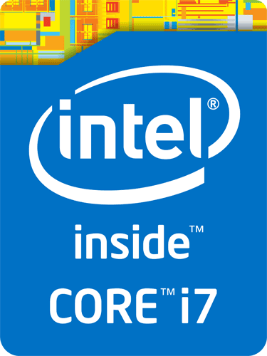 4th Gen Intel Inside brand ID badge