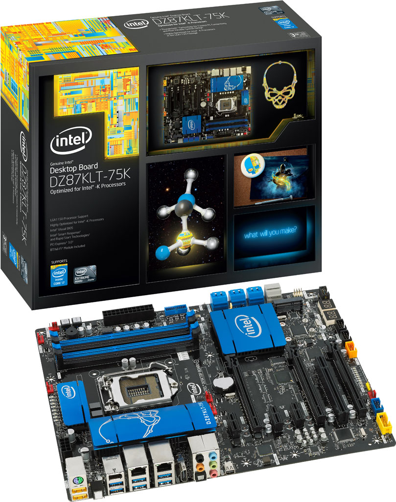 Intel DZ87KLT-75K 'Kinsley' Desktop Board