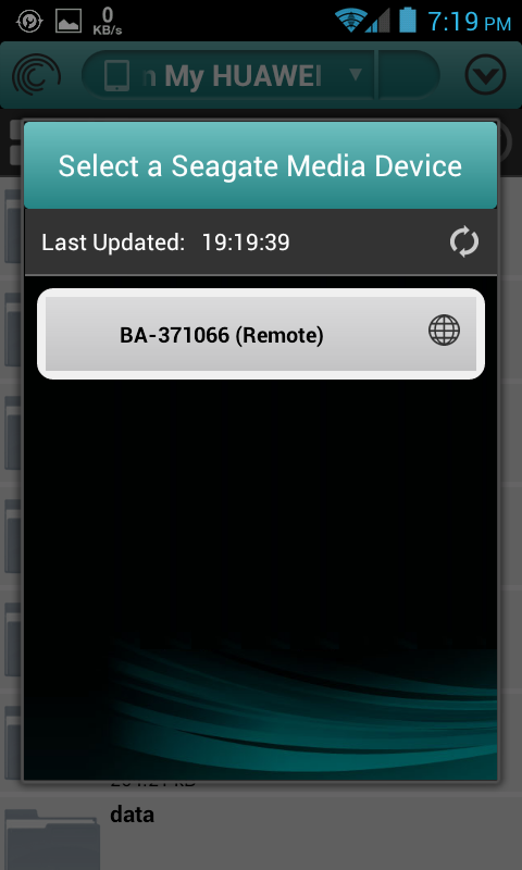Seagate Business NAS Android App