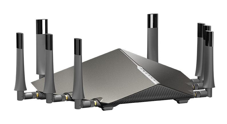 D-Link DSL-5300 COBRA AC5300 Modem Router with AC5300 Triple Band MU-MIMO Wi-Fi